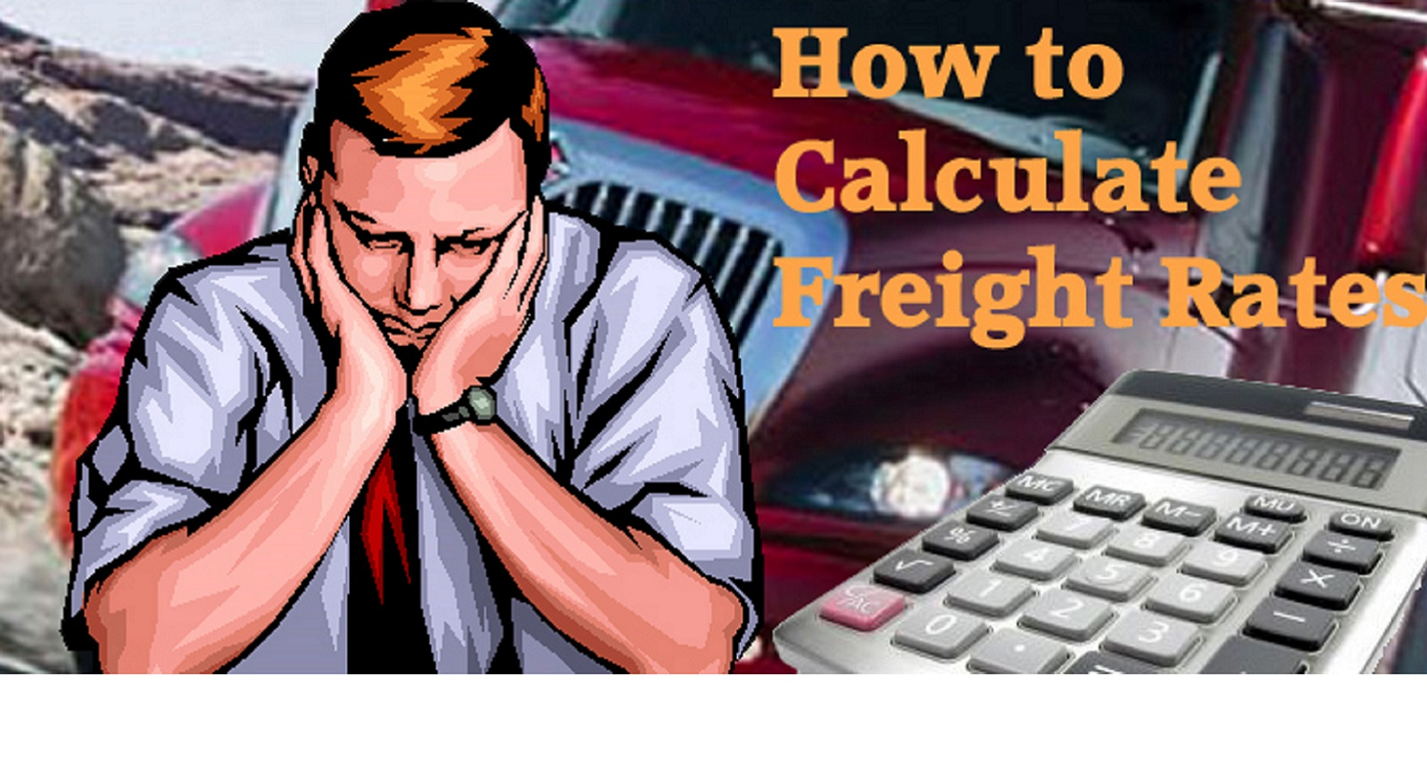 Calculating road freight rates