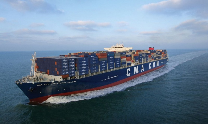 Marseille shipowner CMA CGM orders 10 container ships to China